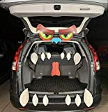 JOYIN Halloween Monster Trunk or Treat Car Archway Garage Decoration with with Eyes, Fangs, Nostrils and Double Side Stickers