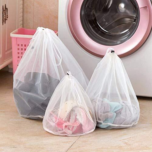 A-YSJ Bolsa para Lavadora 3 Tamaño de lavado de lavandería bolsa de cuidado de la ropa plegable Protección de filtro de red de la ropa interior del sujetador de la ropa interior calcetines Lavadora de