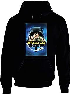 Spaceballs 80's Movie Poster Gift Hoodie Black.