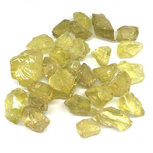 100 De Cuarzo Citrino Natural Crudo Piedras Irregulares Piedras De Cristal En Bruto Piedras Originales para Curar Joyería Haciendo Decoració
