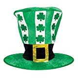 Amscan 395372 Oversized St. Patrick's Day Leprechaun Fabric Hat