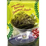 Trader Joe's Roasted Seaweed Snack, Net Wt. 0.4 oz(11.3g)per pack (Pack of 6)