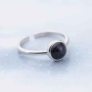 Edel señora anillo Rose Gold 18k PL verde cristal anillo de compromiso idea de regalo!