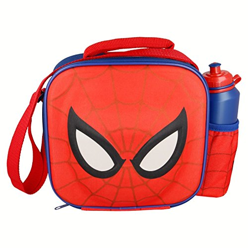 STOR Character 3D Insulated Bag With Strap + Sport Bottle Set Spiderman Sac isotherme unisexe