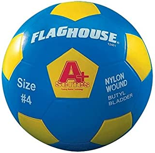 FLAGHOUSE - A+ Series Youth Soccer Ball - Size 4
