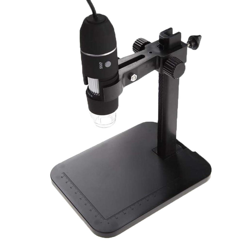 大脳事務所無しポータブルデジタル顕微鏡、USBサポートのAndroidスマートフォン/iPhone用/タブレット用8 LEDライト顕微鏡、1000X電子内視鏡カメラ、