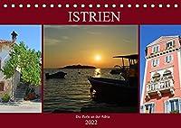 Istrien - Die Perle an der Adria (Tischkalender 2022 DIN A5 quer): Erleben Sie die kroatische Halbinsel Istrien (Monatskalender, 14 Seiten )