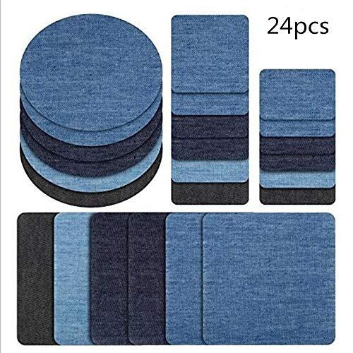 BOSSTER Iron On Patch 16 stuks Truck Patches voor kleding borduurwerk Applique voor het naaien van jassen Rugzakken Jeans