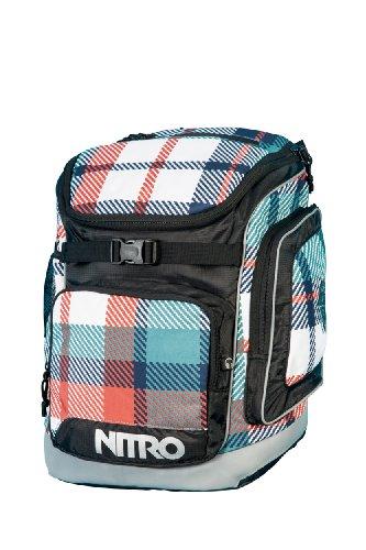 Nitro Snowboards Kinder Schulranzen Bandit Pack, Meltwater Plaid, 43 x 30 x 25 cm, 1131878015