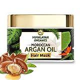 Himalayan Organics Moroccan Argan Oil Hair Mask with Bhringraj | No Parabens