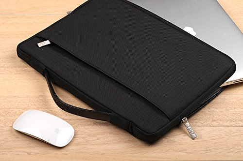 ZINZ 15 15,6 16 Zoll Aktentasche Laptoptasche Hülle, Stoßfeste Wasserdicht Notebook Sleeve kompatibel mit MacBook Pro 15
