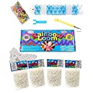 EduKid Toys The Original Rainbow Loom Refill Rubber Bands Value Pack, Complete Crafting Kit