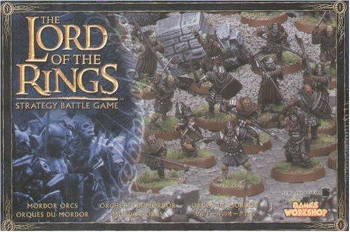 Games Workshop - 99121499009 - Seigneur des Anneaux - Figurine - Orques Du Mordor