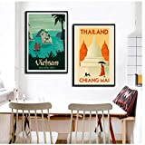 UpperPin Plakate und Drucke World Tourism Travel City