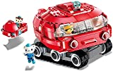 Crasoldiers Octonauts Octopod Building Block GUP-X Launch and Rescue Vehicle Dashi & Barnacles Shellington Kwazii Particles Assembled Building Brick Set 395pcs Children's Gifts for Age 6+ (3707)