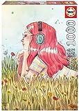 Educa Exclusive Series Esther Gili Junio. Puzzle de 1000 Piezas. Ref. 19030, Multicolor