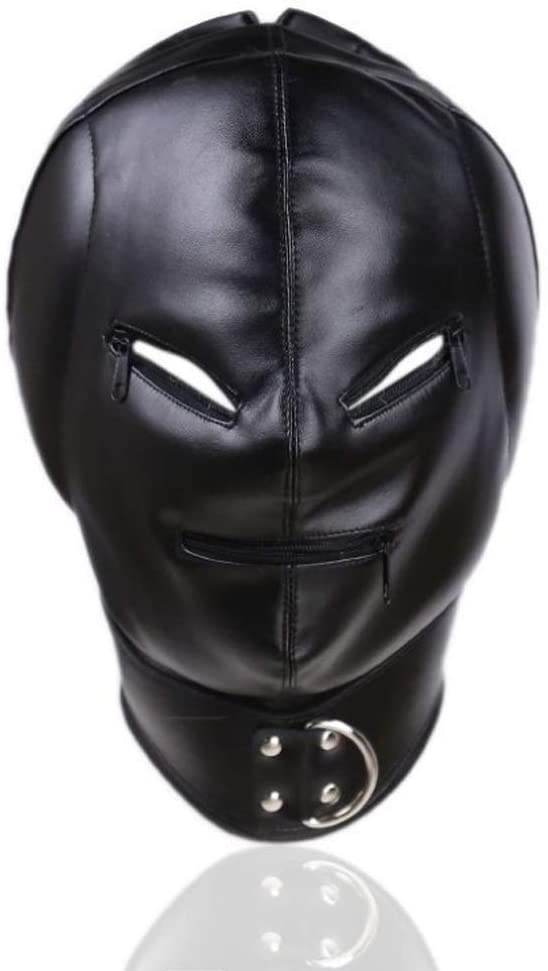 Sex Toys Full Face Outlet ☆ Free Shipping Head Zipper Alternative Max 79% OFF Flirting He Mask