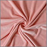 Selfmadeclothes Feincord Meterware Stretch Rosa warm Uni,