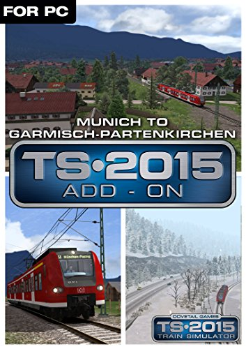 Train Simulator 2015 - Munich Garmisch [PC Code - Steam]