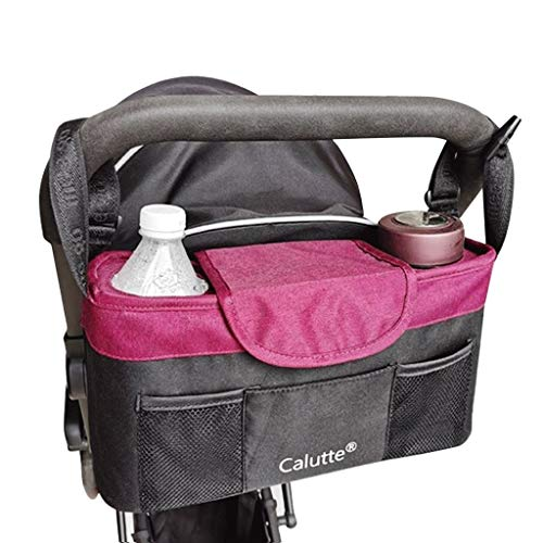 UXJ Kinderwagen-Beutel-Speicher-Beutel-Multifunktions Mama-Beutel Universal-Zubehör Großen Kapazitäts-Mama-Tasche Trolley-Haken Tasche