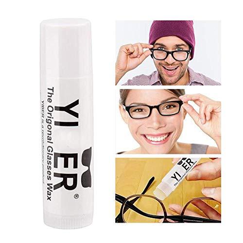 Brille Anti-Rutsch-Wachs , Rutschfeste Anti-Rutsch-Brille Wachs Eyewear Retainers Ideal für Sportler , Nerds und Geeks (3pcs)