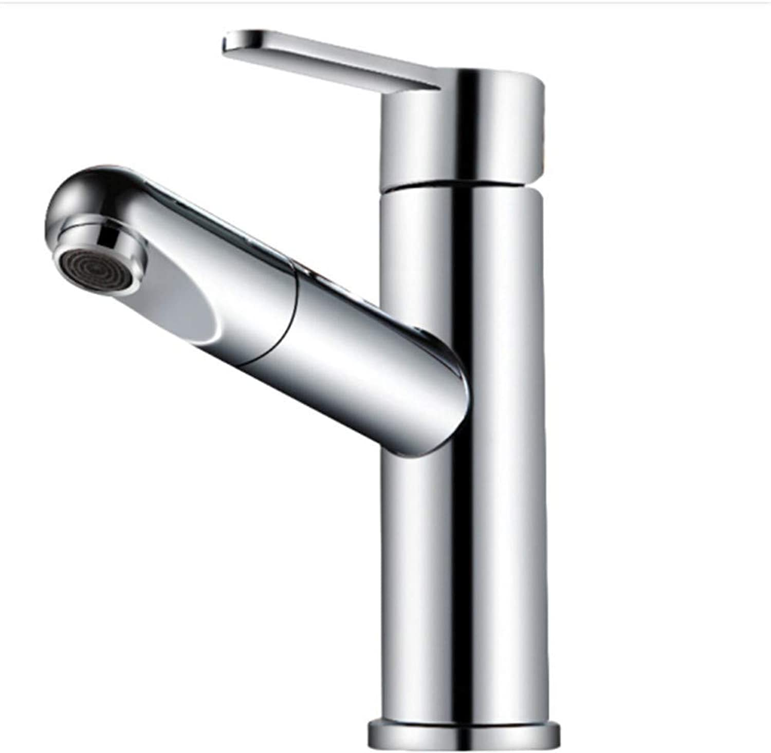 Water Tapdrinking Designer Archwater Faucet Washbasin Basin Cold and Hot Pull Faucet