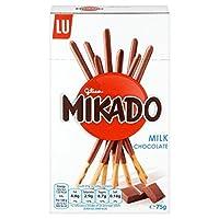 ミカドミルクチョコレートビスケット75グラム (x 6) - Mikado Milk Chocolate Biscuit 75g (Pack of 6) [並行輸入品]