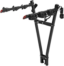 CURT 18013 Black Clamp-On Hitch Bike Rack, Fits 2-Inch Ball Mount Shank, 3 Bicycles