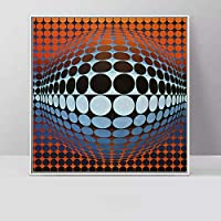 XKHSD 抽象アート幾何学模様キャンバス写真用リビングルーム現代のポスタープリント装飾絵画ウォールアートなしフレーム