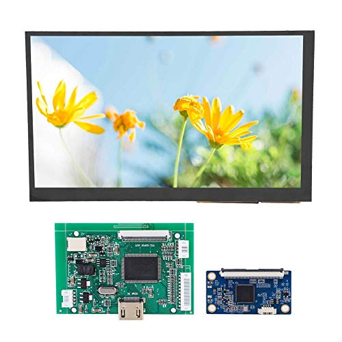 Sturdy HDMI VGA Monitor Screen Kit 7 Inch LCD TFT Display 800 * 480/1024 * 600 for Raspberry Pi 3 with Driver Board(800 * 480 capacitive kit)