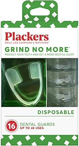Plackers Grind No More Dental Night Guard for Teeth Grinding 16 Count product image