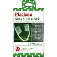 Plackers, グラインド・ノー・モア(Grind No More)、使い捨て、デンタルガード、16個