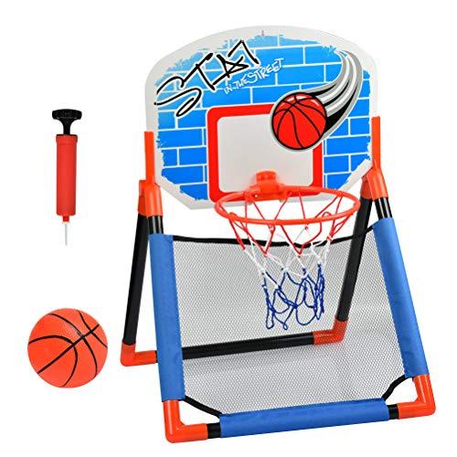 BONUS ET SALVUS TIBI 45/CM Multicolor BEST Mejor Deporte Baloncesto Aro y Red