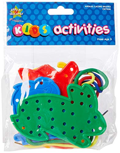 Creation Station Animal Lacing Shapes by