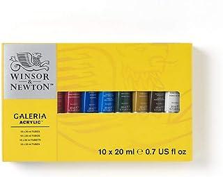 Winsor & Newton Galeria - Set de 10 tubos de 20 ml de acrílicos