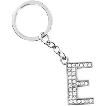 Modern House Charm Key Chain Ring Handbag Accessory Alloy Kid Novelty Silver