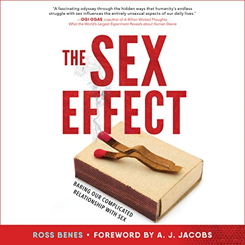 The Sex Effect audiobook cover art