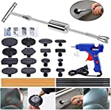 YOOHE Paintless Dent Repair Puller Kit - Dent Puller Slide Hammer T-Bar Tool with 16pcs...