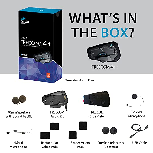 Cardo Freecom 4 Plus (+) Duo - 5