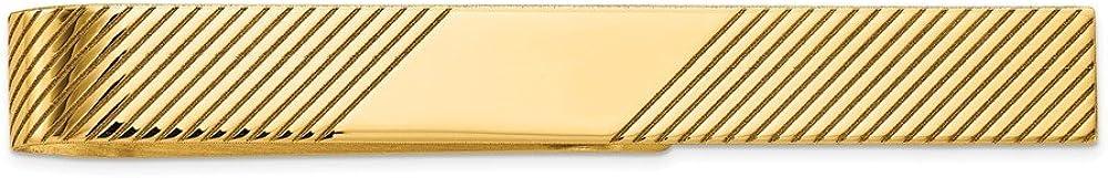 14K Yellow Gold Tie Bar