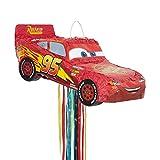 Unique Party - Piñata de Disney Cars Lightning Mcqueen, para Tirar (65981)