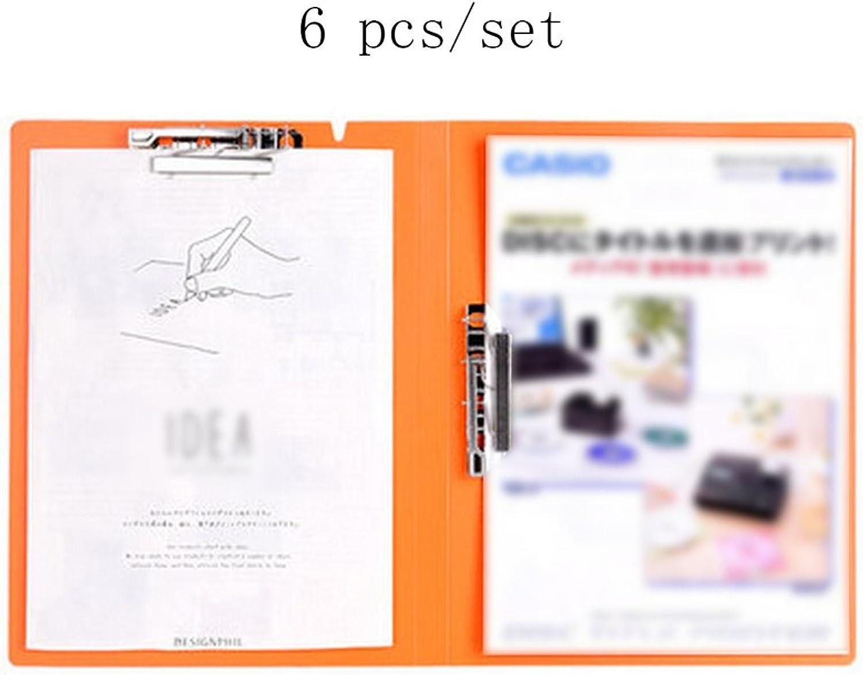 Liu Yu·Bürofläche, Büro Schreibwaren schwarz PP Datenblatt Datenblatt Datenblatt Mode Multifunktions Ordner Test Ordner 6 Stück   Set B06XR8R3SS | Komfort  58613d