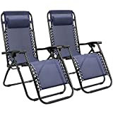 Best Gravity Chairs - Homall Zero Gravity Chair Adjustable Folding Lawn Lounge Review