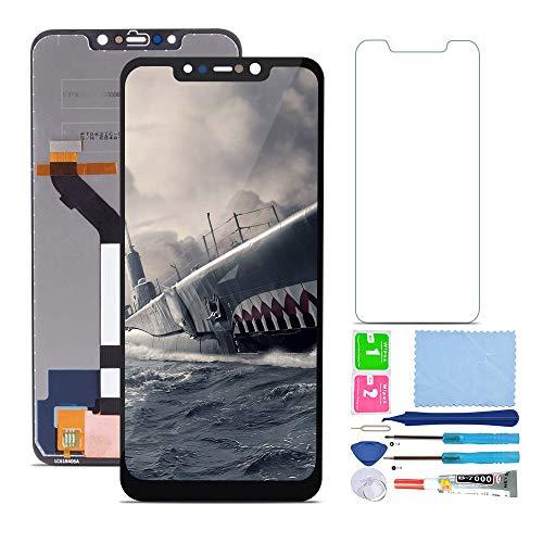 Pantalla LCD Táctil Asamblea Repuesto Compatible con Xiaomi Redmi Note 6 Pro con Herramientas + Protector de Pantalla (Negro)
