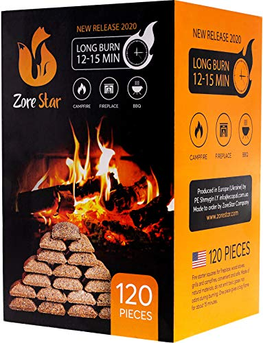 Buy Discount Kindling wood sticks 500pc - Fire starter sticks for campfires / fireplace / bbq / wood...