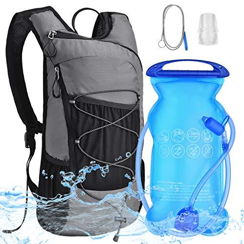 Mochila de Hidratación Bicicleta: con Bolsa de Agua 2L Vegiga de Ligero