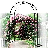YYHJ Arco de Metal para Jardin,Arco para Enredadera,para Plantas trepadoras,pabellón pérgola,Soporte Rosas Escalada Archway Jardín Decoración