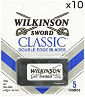 Wilkinson Sword ウィルキンソンソード 両刃替刃 50個入り (5 x 10) [並行輸入品]