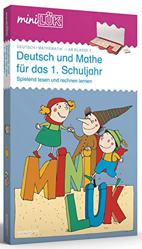 miniLÜK-Sets: miniLÜK-Set: 1. Klasse - Mathematik, Deutsch: Deutsch und Mathe für das 1.Schuljahr