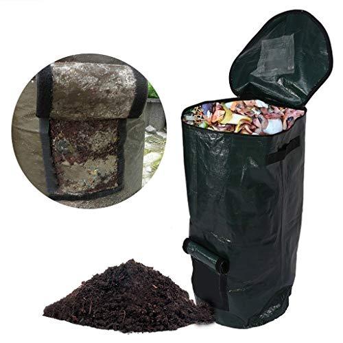 Buy 2 Pcs Garbage Bag Organic Waste Kitchen Rubbish Storage Bags Garden Yard Compost Bag Environment...